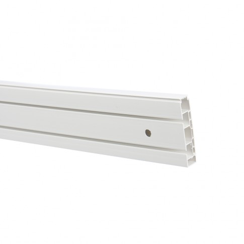 Sina perdea tavan cu 2 canale Munchen BM 2 PVC 400 cm alb
