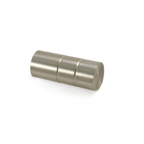 Cap galerie Zylinder 25 mm inox 30411