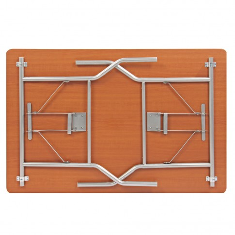 Masa bucatarie plianta DS26085A, dreptunghiulara, 4 persoane, cires, 120 x 80 x 76 cm, 1C