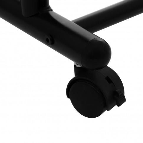 Stander haine ST25168 cu bare umerase, cromat + negru, 915 x 440 x 1130 / 2000 mm, 1C