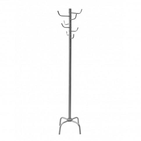 Cuier hol tip pom ST23044 cu 8 agatatori, metal cromat, 460 x 460 x 1760 mm, 1C