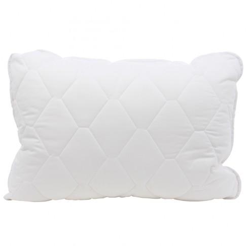 Perna pentru dormit Caressa, hipoalergenica, matlasata, poliester + bumbac, alb, 50 x 70 cm