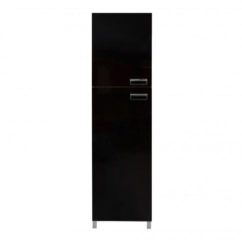 Dulap bucatarie Cataleya, wenge, 2 usi, 60 x 60 x 214 cm, 3C