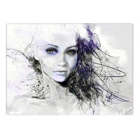 Tablou dualview, Fata din vis, canvas, 40 x 60 cm