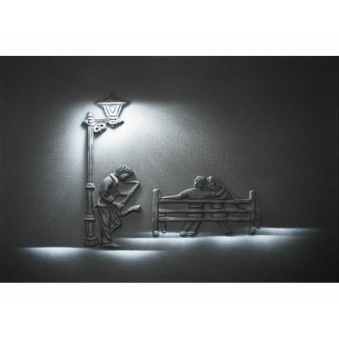 Tablou dualview, Saxofonist, canvas, 60 x 90 cm