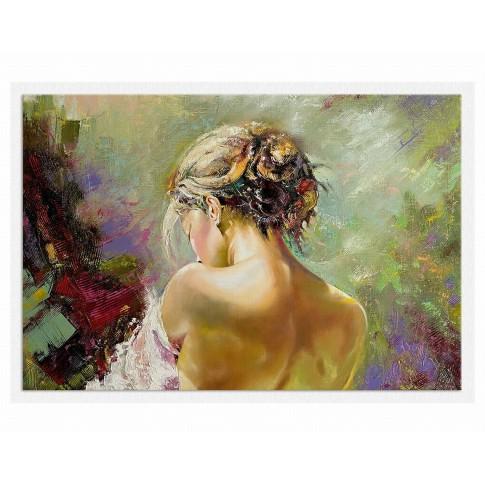 Tablou dualview, Spate de femeie, canvas, 60 x 90 cm
