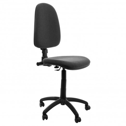 Birou calculator Pitic, magia + scaun birou ergonomic Golf, gri inchis