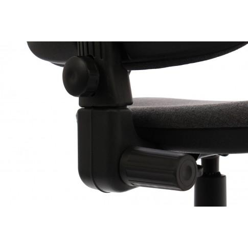 Scaun birou ergonomic Golf LX, rotativ, stofa C13, gri inchis