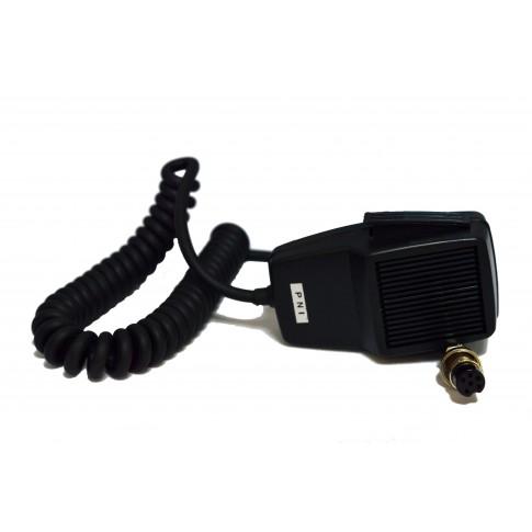 Microfon PNI Dinamic, cu 6 pini, 100 x 60 x 38 mm, negru