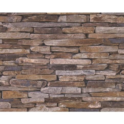 Tapet vlies, model piatra, AS Creation Wood'n Stone 914217, 10 x 0.53 m