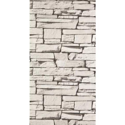Tapet vlies, model piatra, Grandeco Cote maison 827087 10 x 0.53 m