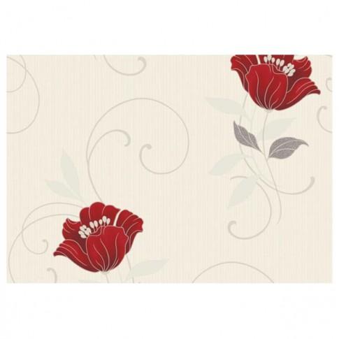 Tapet netesut, model floral, Grandeco Charming floral CF-88102 10 x 0.53 m