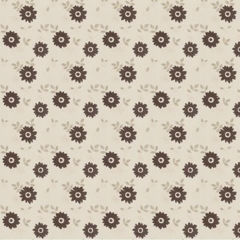 Tapet fibra textila, model floral, Rasch Plaisir 788327, 10 x 0.53 m