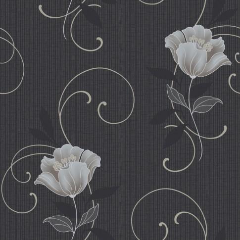 Tapet fibra textila, model floral, Grandeco Charming CF-88105, 10 x 0.53 m