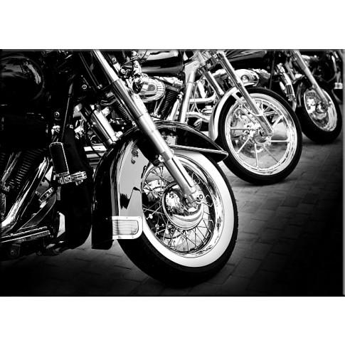 Tablou dualview DTB4073, Motociclete, canvas, 40 x 60 cm