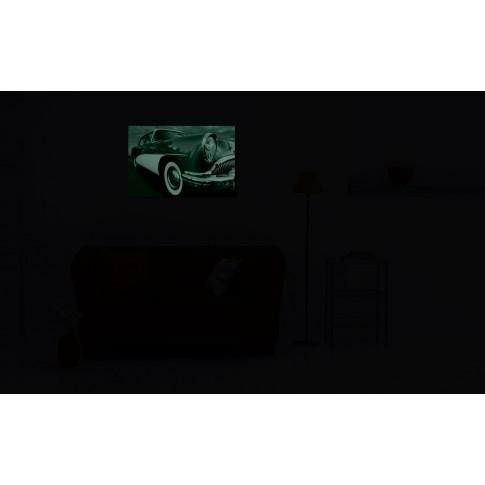 Tablou dualview DTB4207, Masina retro, canvas, 60 x 90 cm
