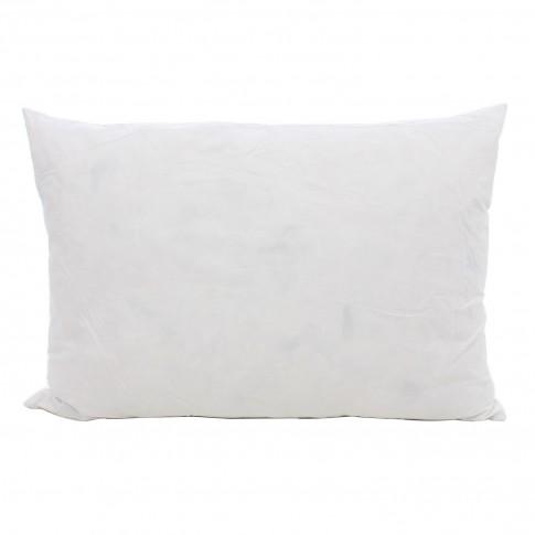 Perna pentru dormit Somnia pene de gasca + bumbac alb 50 x 70 cm