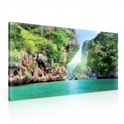 Tablou PP 13201, peisaj marin, canvas, 75 x 100 cm