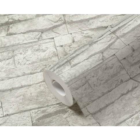 Tapet vlies, model piatra, AS Creation Wood'n Stone 707161, 10 x 0.53 m