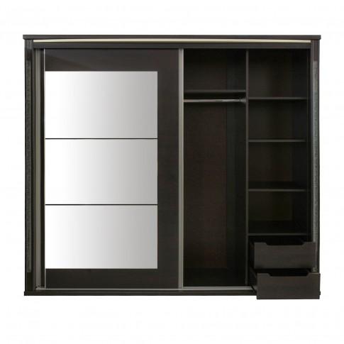 Dormitor complet Allegro, wenge, 5 piese, 25C