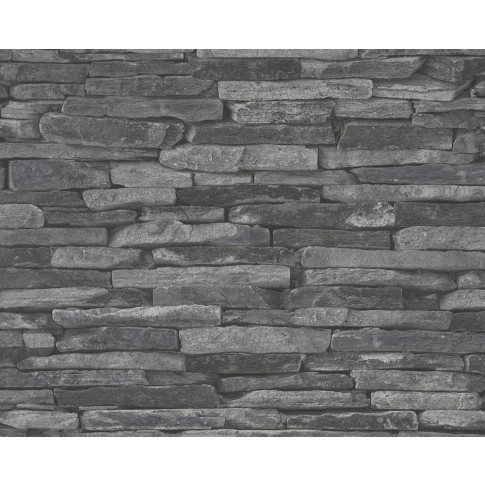 Tapet vlies, model piatra, AS Creation Wood'n Stone 914224, 10 x 0.53 m