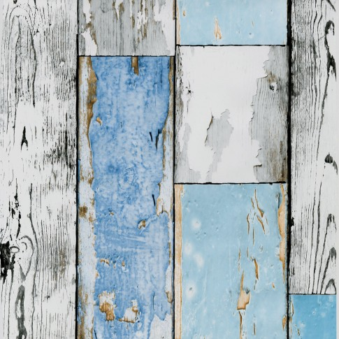 Autocolant lemn pentru mobila, Gekkofix 12878, multicolor, 0.45 x 15 m