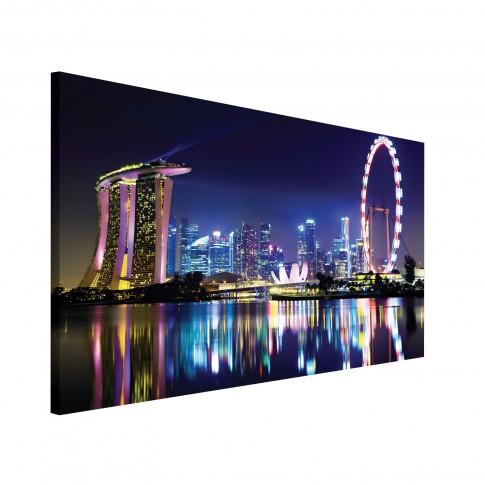 Tablou PP20701, peisaj urban, canvas, 75 x 100 cm