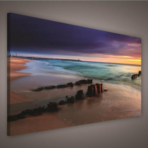 Tablou PP42201, peisaj marin, canvas, 75 x 100 cm