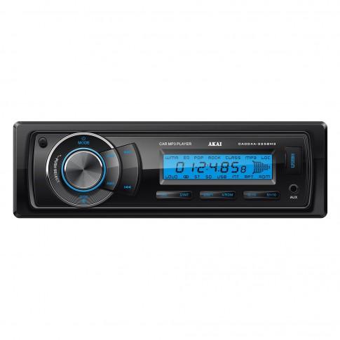 Radio MP3 player auto Akai CA004A-3258M3, 4 x 35 W, 1 DIN, USB, SD / MMC, Aux in, egalizator, reglaj sunet