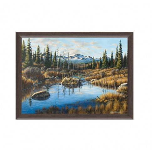 Tablou, peisaj, canvas + rama MDF, 50 x 70 cm
