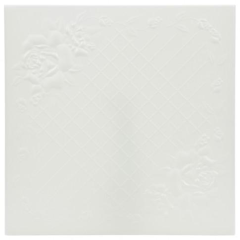 Tavan fals decorativ din polistiren C2064 clasic alb 50 x 50 x 0.3 cm