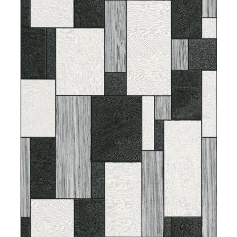Tapet fibra textila, model geometric, Rasch Plaisir 455427, 10 x 0.53 m