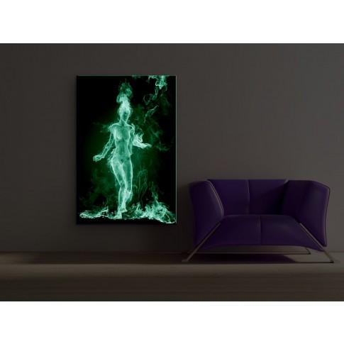 Tablou dualview DTB4816, Fata de foc, canvas, 60 x 90 cm