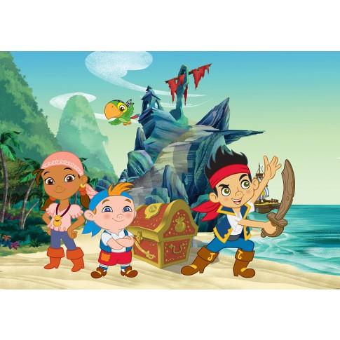 Fototapet copii duplex Disney Piratii 980P4 254 x 184 cm