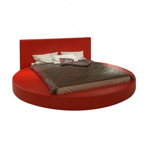 Pat dormitor Aplle, matrimonial, tapitat, cu lada, diverse culori, 160 x 200 cm, 3C