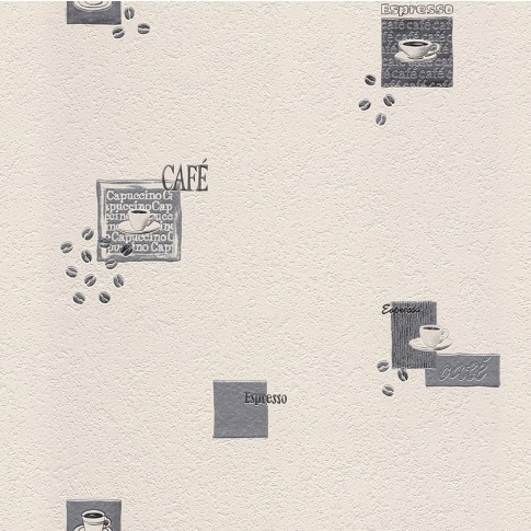 Tapet hartie, pentru bucatarie, Rasch Das Beste 815702, 10.05 x 0.53 m