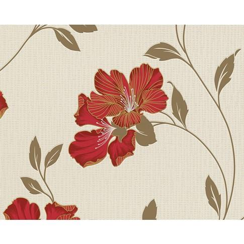 Tapet hartie, model floral, AS Creation Atlanta 944293, 10 x 0.53 m