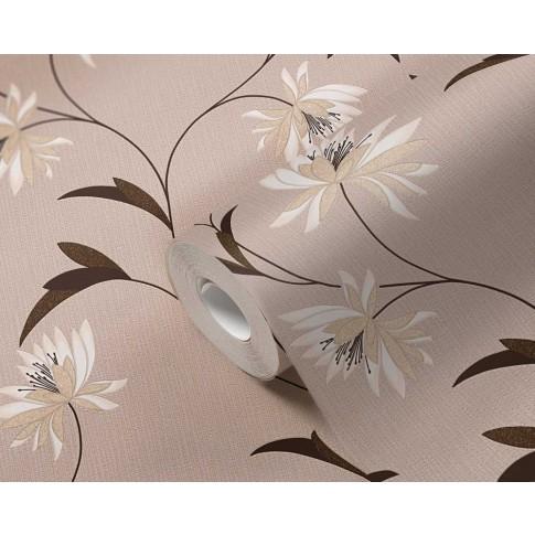 Tapet hartie, model floral, AS Creation Atlanta 957201, 10 x 0.53 m