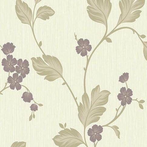 Tapet model floral, Grandeco Bella BOC-09-04-6, 10 x 0.53 m