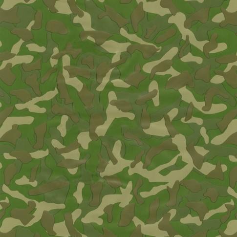 Autocolant decorativ Gekkofix Camouflage 13540, verde, 0.45 x 15 m