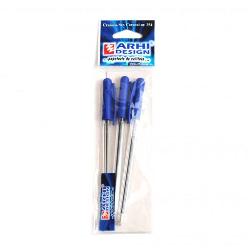 Pix Tratto, albastru, 1 mm, set 3 bucati