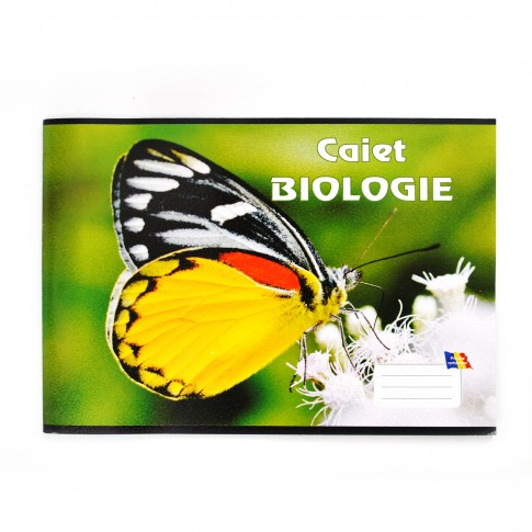 Caiet biologie, 16 File, 60 g/mp