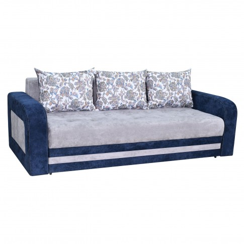 Canapea extensibila 3 locuri Delta, cu lada, diverse culori, 230 x 109 x 80 cm, 4C