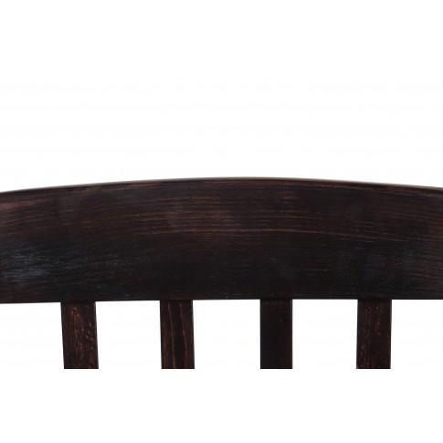 Scaun bucatarie / living fix Madeira, tapitat, lemn wenge + stofa rosie