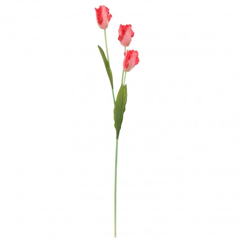 Floare artificiala, BF11-1239S, rosie, 98 cm