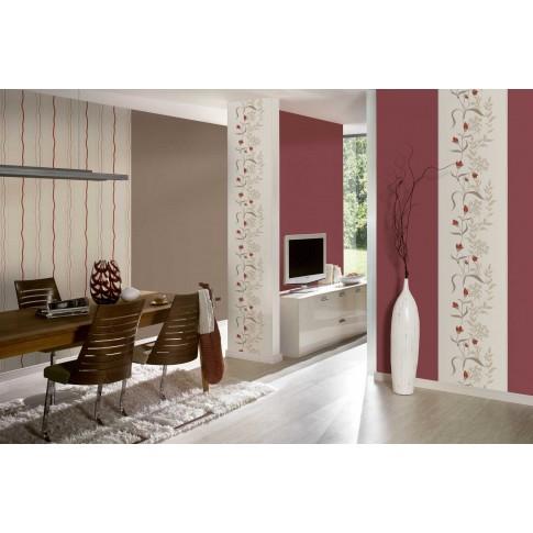 Tapet vlies, model floral, AS Creation Avenzio 7 958741, 10 x 0.53 m