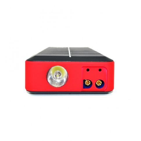 Acumulator extern PNI JS10A pentru pornire motor si incarcare dispozitive electronice, portabil, tensiuni variabile 12 V - 16 V - 19 V, 10000 mAh, lampa LED
