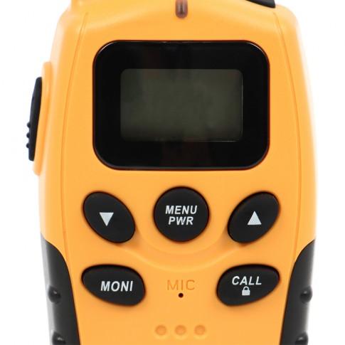 Statie radio emisie / receptie PMR portabila PNI PMR R6, set 2 bucati, functie VOX, Dual Watch, scanarea automata a canalelor, Roger Beep