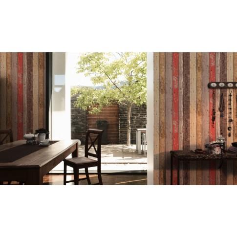 Tapet vlies, model lemn, AS Creation New England 2 895127, 10 x 0.53 m