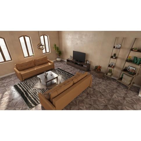 Comoda TV cu sertare Valentino 1100 LV14, furnir diverse culori, 110 x 45 x 45 cm, 1C